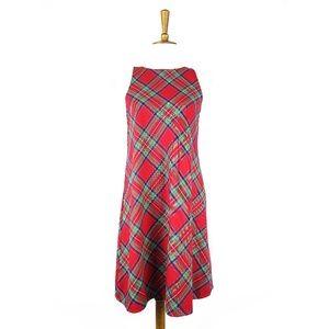 Vineyard Vines red plaid Jolly sleeveless dress, 2